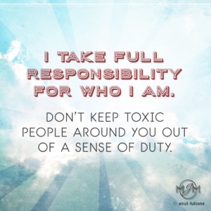 I Take Full Responsibility