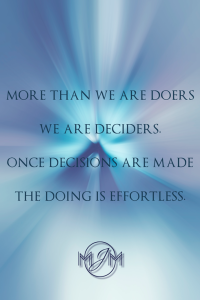 More Than We Are Doers