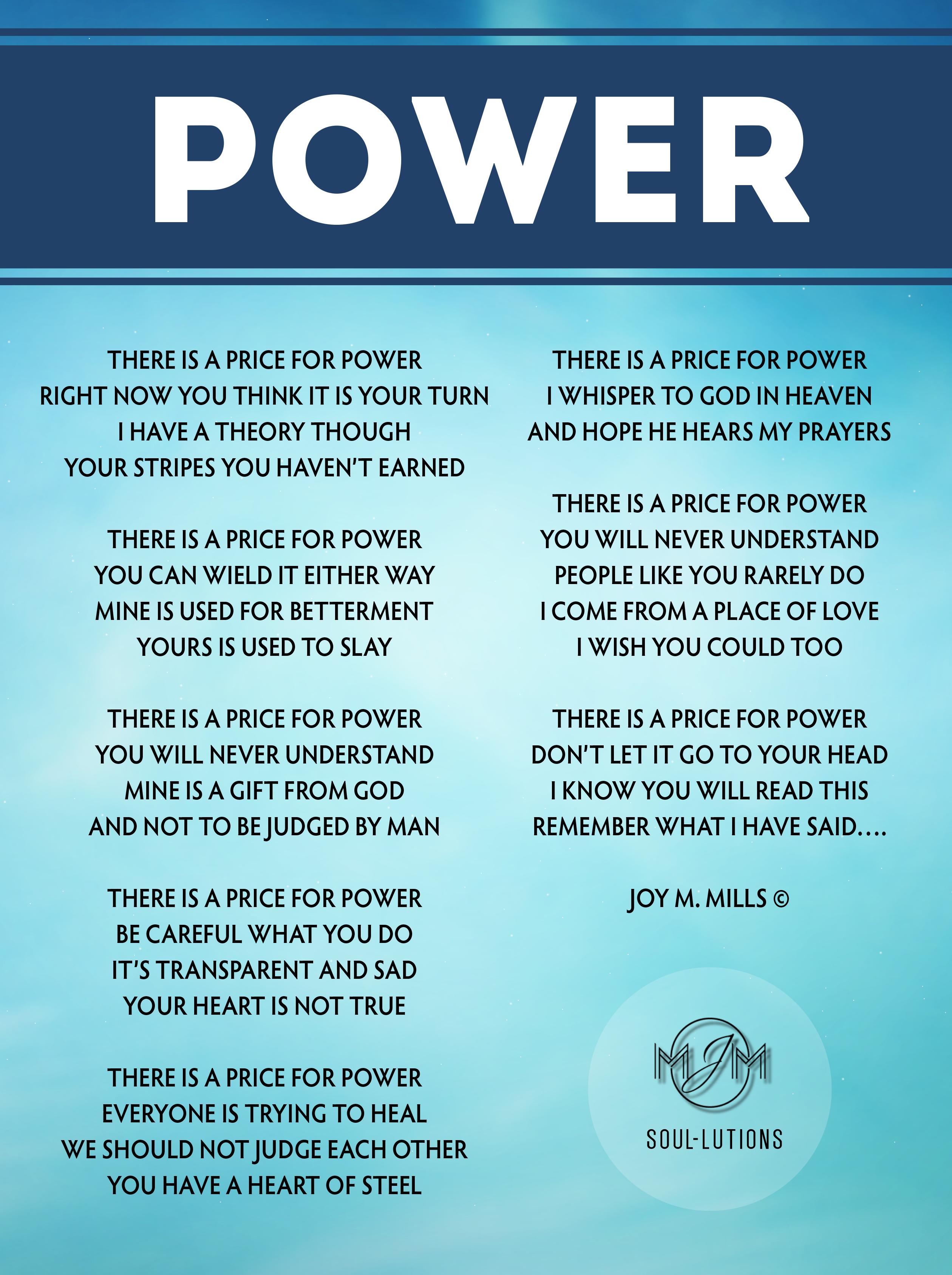 Power | Joy M  Mills