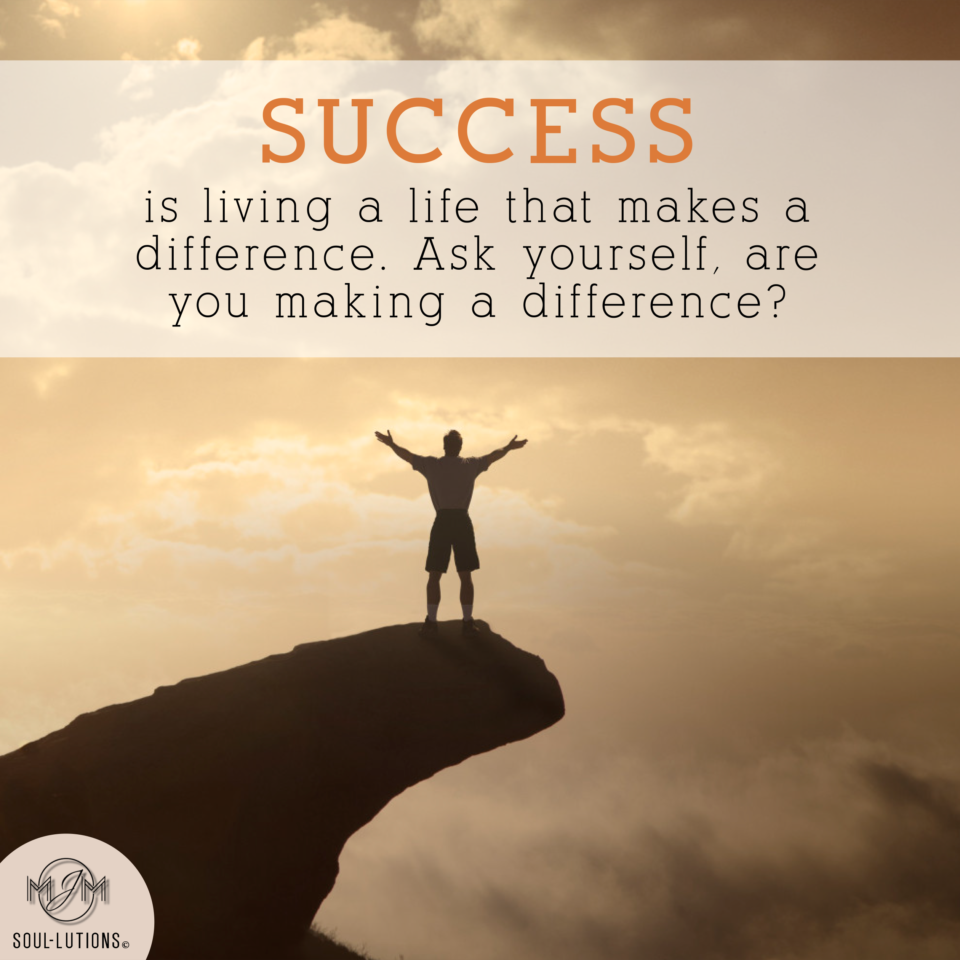 Success is Living..